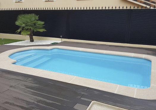 piscinas de poliester